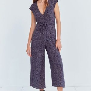 Kimchi Blue UO Wrap jumpsuit with open back